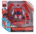 Caliente de 6 pulgadas de la última gran hero 6 baymax pvc Transformaciones Fat Hombre Globo Muñeca Figura de acción de Juguete Robot Juguetes regalos
