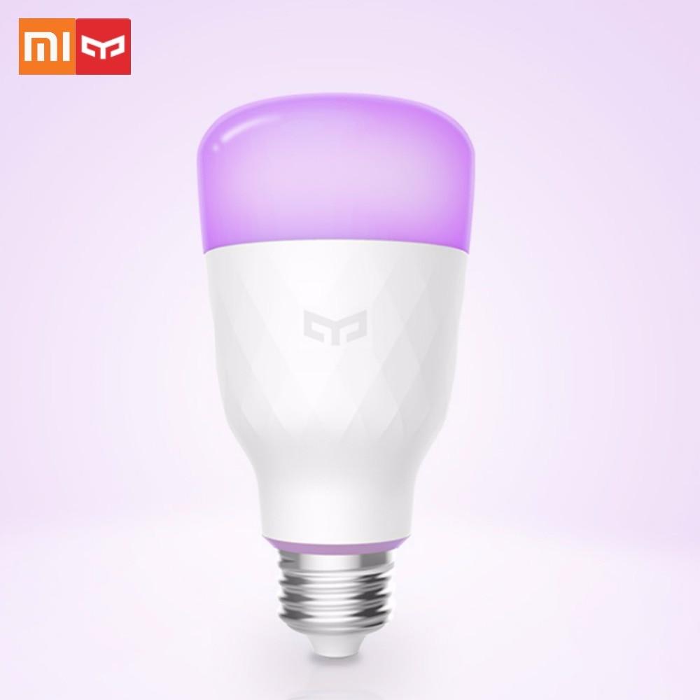 Update Version Xiaomi Yeelight Smart Led Bulb Colorful 800 Lumens
