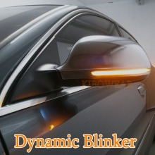 KIBOWEAR динамический мигалка зеркальный светильник для Audi A3 8P A4 A5 B8 Q3 A6 C6 4F S6 светодиодный поворотник боковой индикатор S4 S5 S6 A8 D3 8K S8