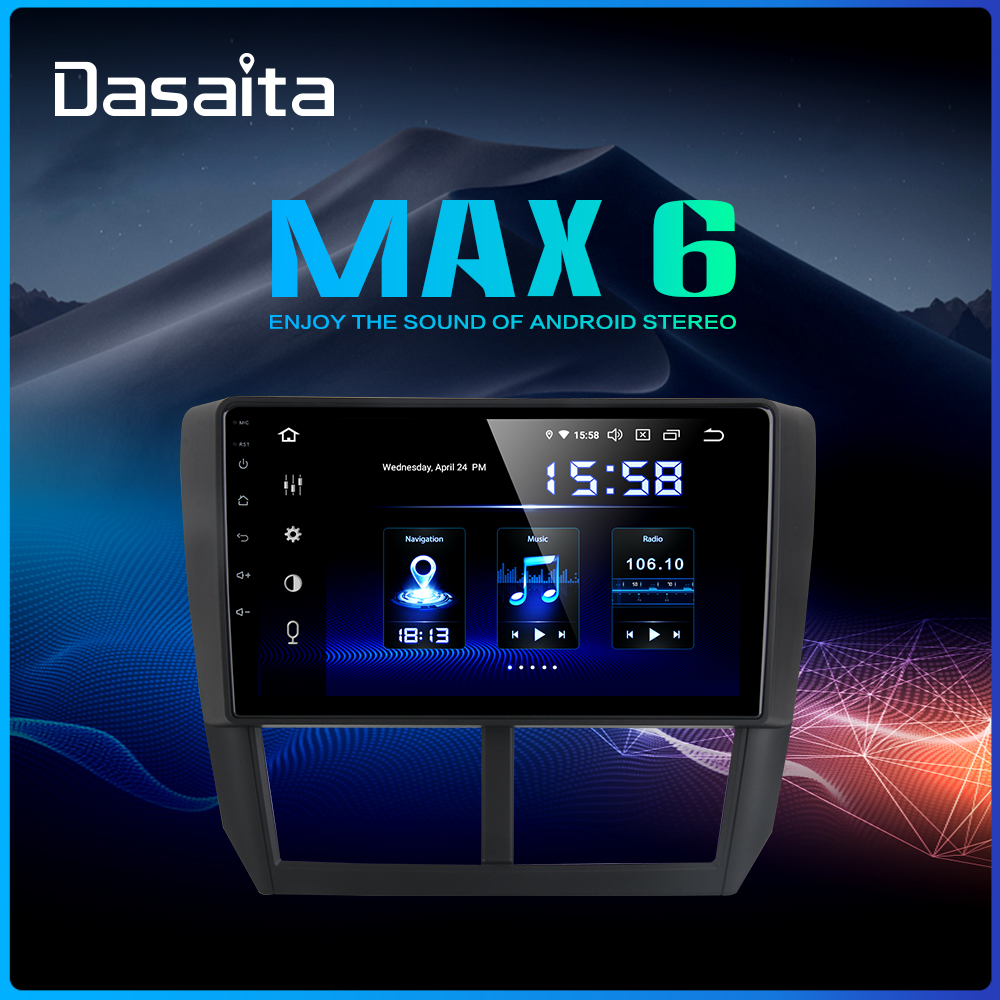 Dasaita 9 IPS Car Multimidia Android 9 0 for Subaru Forester WRX 2008 2009 2010 2011