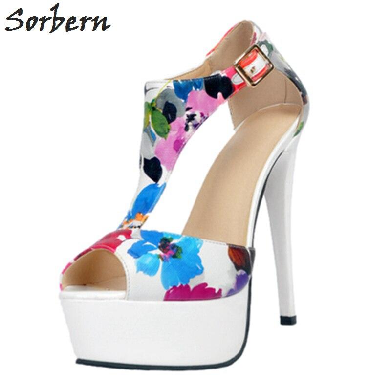 Sorbern High Heels Women Pumps Shoes Lux