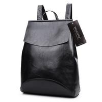 2017 New PU Leather Backpack Shoulder Bag Backpack Women School Bags for Teenage Girls Back Pack Women Bolsa Mochila feminina