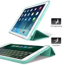 Case for iPad Mini 4 3 2 1 Case PU Leather Silicone Soft Back Trifold Stand Auto Sleep/Wake up Smart Cover for iPad Mini