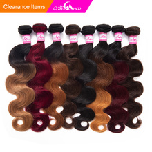 Ali Coco Malaysian Hair Bundles 1/3/4 Bundles 8-30 inch Body Wave Deals Non Remy Omber Hair 100% Human Hair Extensions
