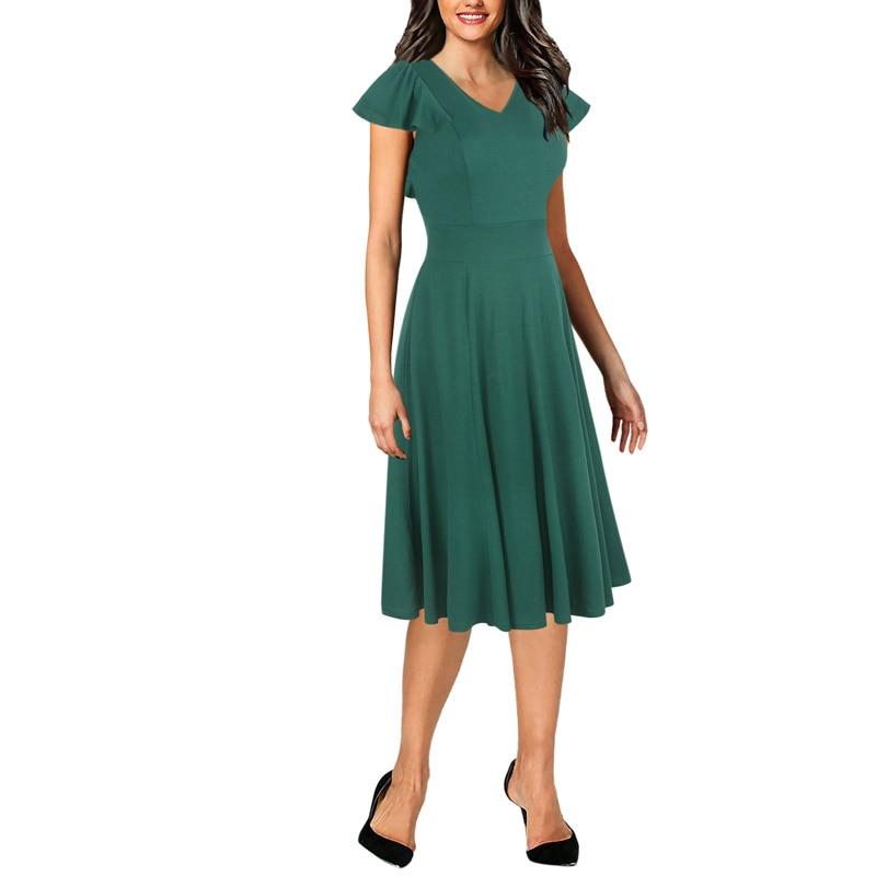 Women Dresses New Arrival 2018 Elegant Vintage 50s 60s