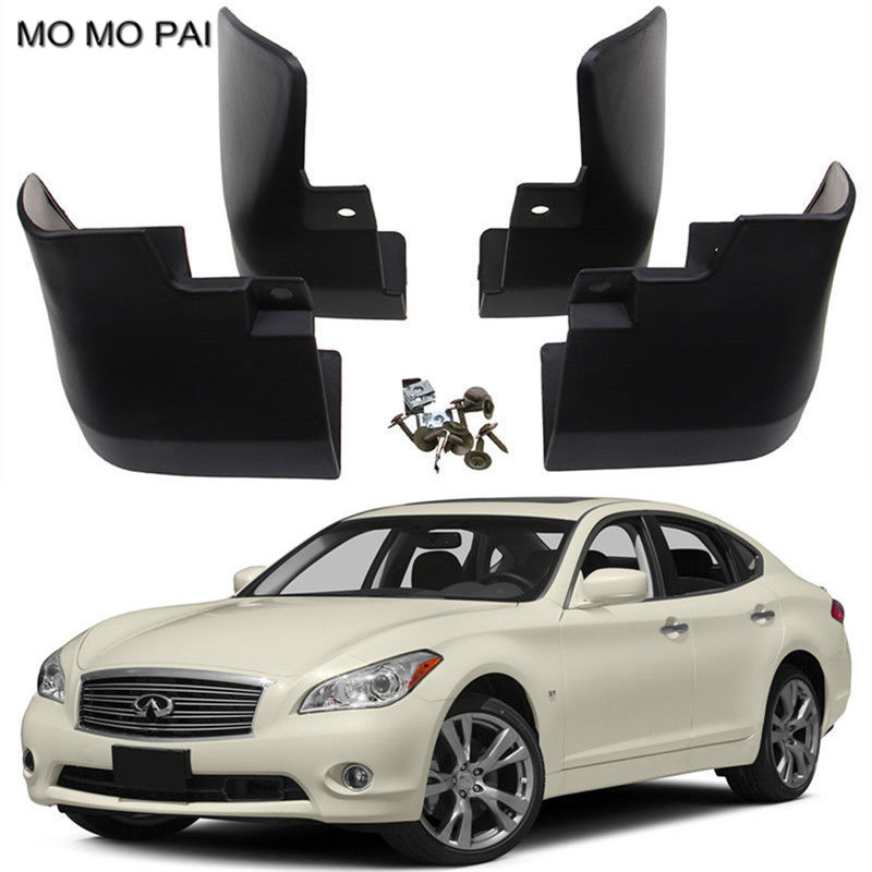 CAR Splash Guards Mud Guards Mud Flaps FENDER FIT FOR 2011 2016 Infiniti G25 G37 Q50