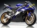 Vendas quentes, Barato YZF R6 carenagens para Yamaha R6 2008 - 2014 YZFR6 08 09 10 11 12 13 14 YZF-R6 Blue Black carenagem ( moldagem por injeção )