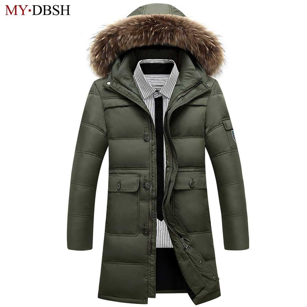 0e095eb7d35c 2018 зимние Для мужчин куртка утепленная Повседневное хлопковые пальто  ветрозащитный Водонепроницаемый дышащая куртка пальто парка Для