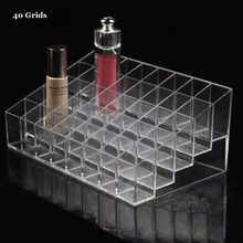 Multifunctional 40/36/24 Grids Lipstick Stand Case Cosmetic