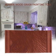 DIY Paint Edgers Wall Paint Schistose Brown Wood Chip Home Improvement Wall Treatments Paint Tool
