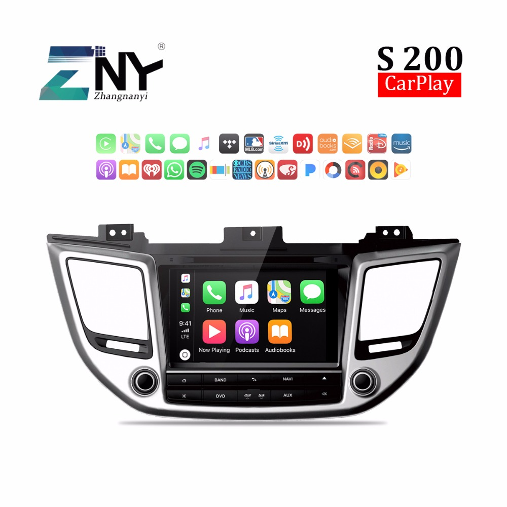 8 Android 8.0 Car DVD For Hyundai Tucson IX35 2016 2017 Auto PC Radio RDS FM Audio Video GPS Navigation Stereo Headunit Carplay