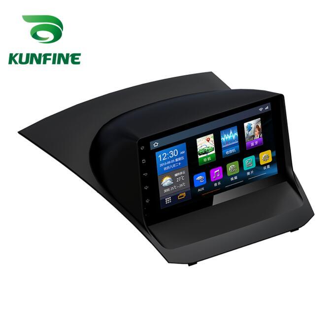 Quad Core 1024*600 Android 6.0 Car DVD GPS di Navigazione Lettore Deckless Auto Stereo Per Ford Fiesta 2013- 2018 Radio Headunit wifi