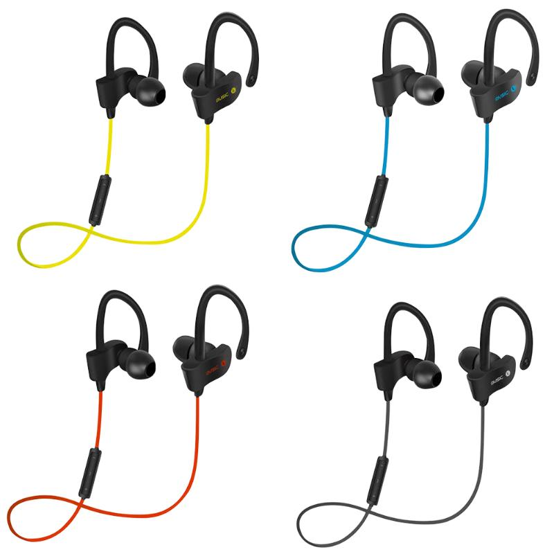 Wireless Bluetooth 4.1 Earphone Sports In-Ear Earpiece Earphone with Wire control Microphone Hands free call Stereo headphones car charger bluetooth in ear headset earphone earpiece combo wireless connection hands free with microphone 2 in 1