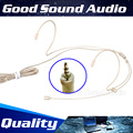 5Pcs 3.5 mm Jack Stereo Plug Double Earhook Head Worn Mic Headset Microphone Head-Mounted Mikrofone For Wireless System BodyPack
