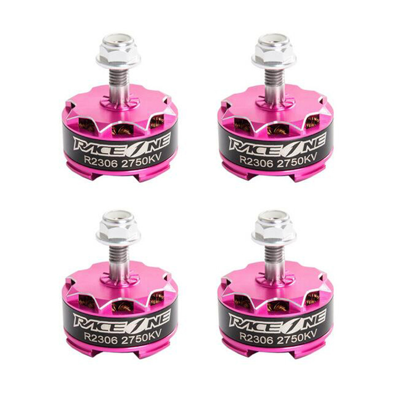 4X RaceOne RACE1 R2306 2400KV 2750KV 3-4S 12N14P FPV Racing Brushless Motor Prop For RC Racing Drone Quadcopter Spare Parts gear230 rc fpv drone quadcopter system 2700kv brushless system motor 2306 kv2700 quick installation propeller blheli s 30a esc