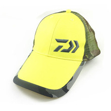 2017  Men Windproof Polyester Striped Caps Hats Fishing Camping Sun Hat High Quality Fress Shipping  Yellow White Black Color