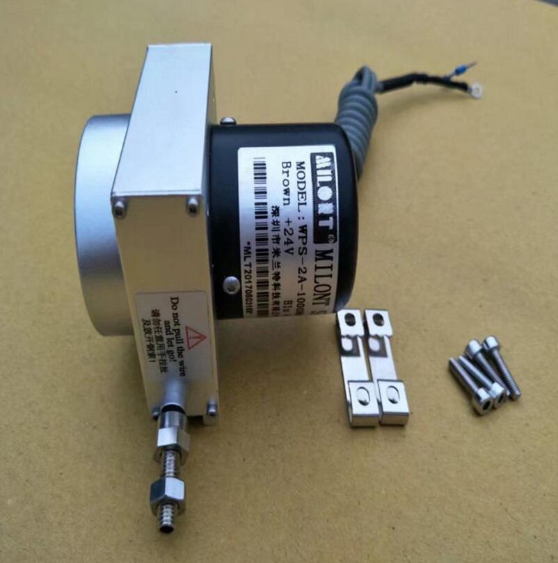 MPS-M-6000 6000mm corda de Fio de Cabo Cabo do sensor do sensor codificador codificador sensor de Potenciômetro de Fio Empate