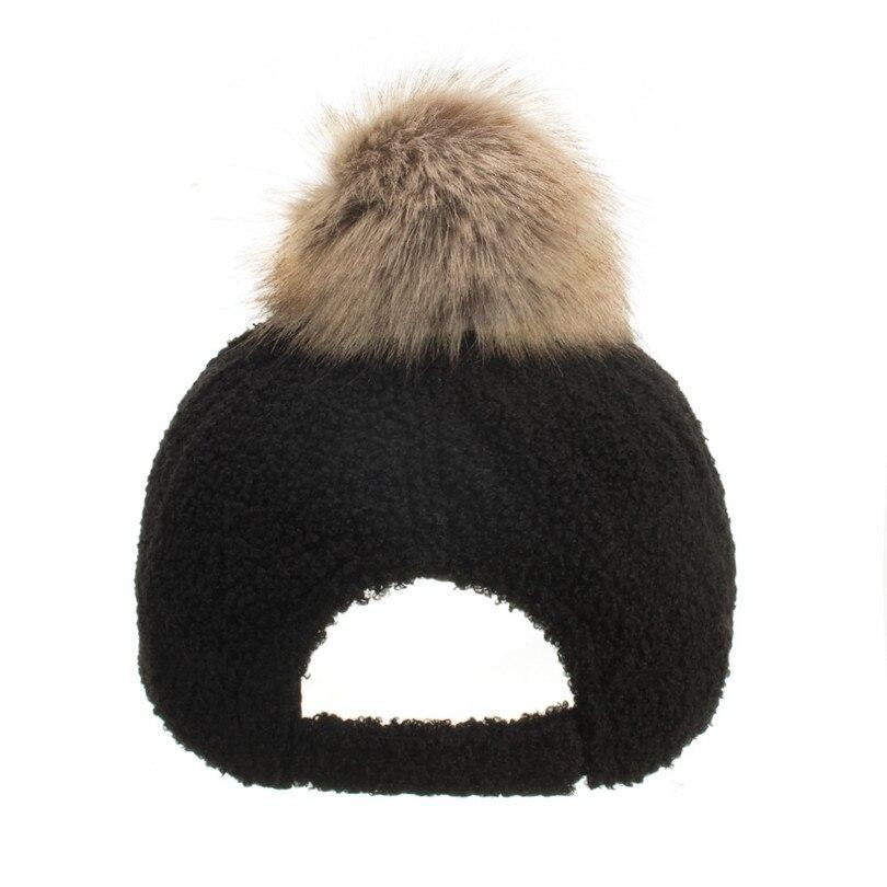 Winter Women\`s Caps Wool Baseball Cap Black Tactical Hat Shade Hats Winter Casual Bone Gorras Para Hombre Wholesale 40OR1521