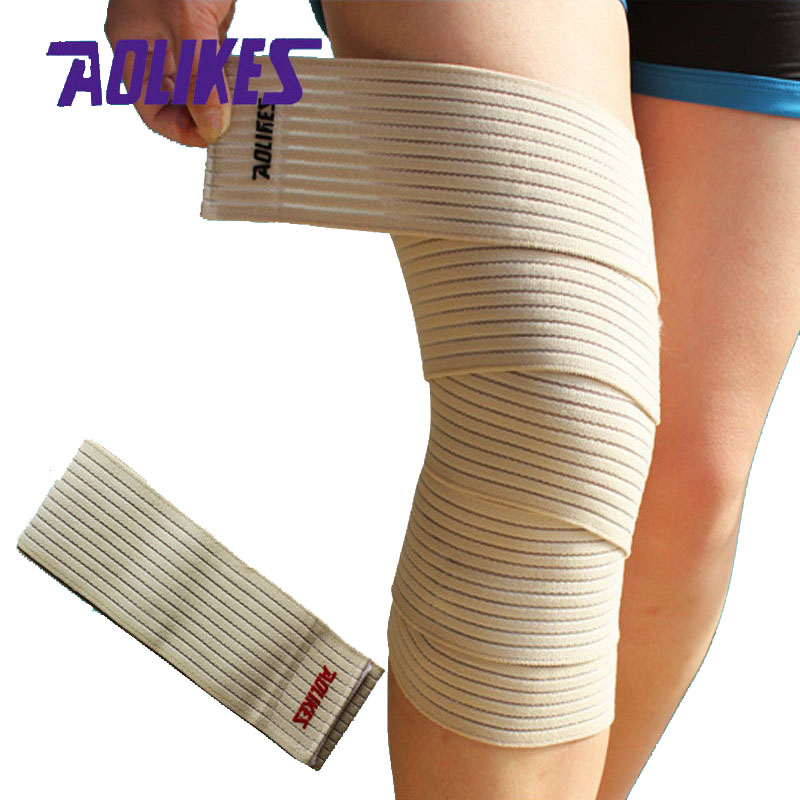 AOLIKES 1 paar 180 * 7,5 cm Kõrge elastne sidekate põlve - Spordiriided ja aksessuaarid - Foto 3