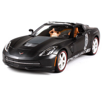 Maisto 1 18 2014 Corvette Stingray POLICE Sports Car Diecast Model Car Toy New In Box
