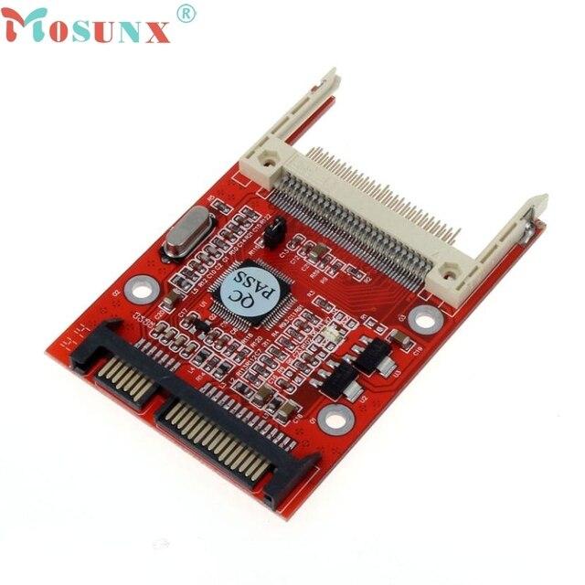 mosunx Good Sale 1PC CF Compact Flash Type I/II To 2.5 Inch SATA Serial Adapter Drop Shipping Jun 30
