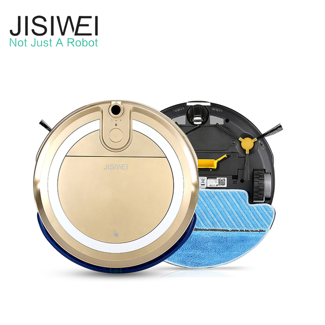 JISIWEI I3 Auto Robot Vacuum Cleaner House Cleaner Aspiradora Robot With Built-in HD Camera APP Remote Control Sweeping Robot