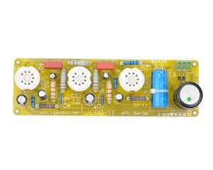 Image 5 - 6N1 + 6P1 vana Stereo amplifikatör kurulu vakumlu tüp amplifikatörler Filament Hifi ses AC güç kaynağı ile 3vsvTubes