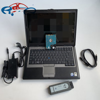VAS6154 ODIS V4.4.1 Bluetooth Version OBD OBD2 Diagnostic Tool VAS 6154 for UDS Scanner software HDD in D630 laptop ready to use