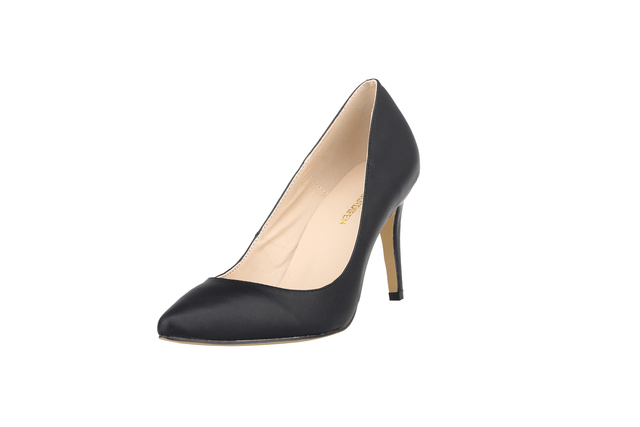 Plus Size 35-42 Women Pumps Pointed Toe Ladies Thin Heels Wedding Shoes Red Bottom High Heel Sole Nude Dress Pumps Women 952-1MA