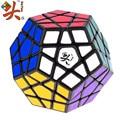 Stickerless DaYan Megaminx 1 3-axis-rank Dodecaedro Magic Cube Velocidade Enigma Cubos Brinquedos Educativos para Crianças Caçoa o Presente