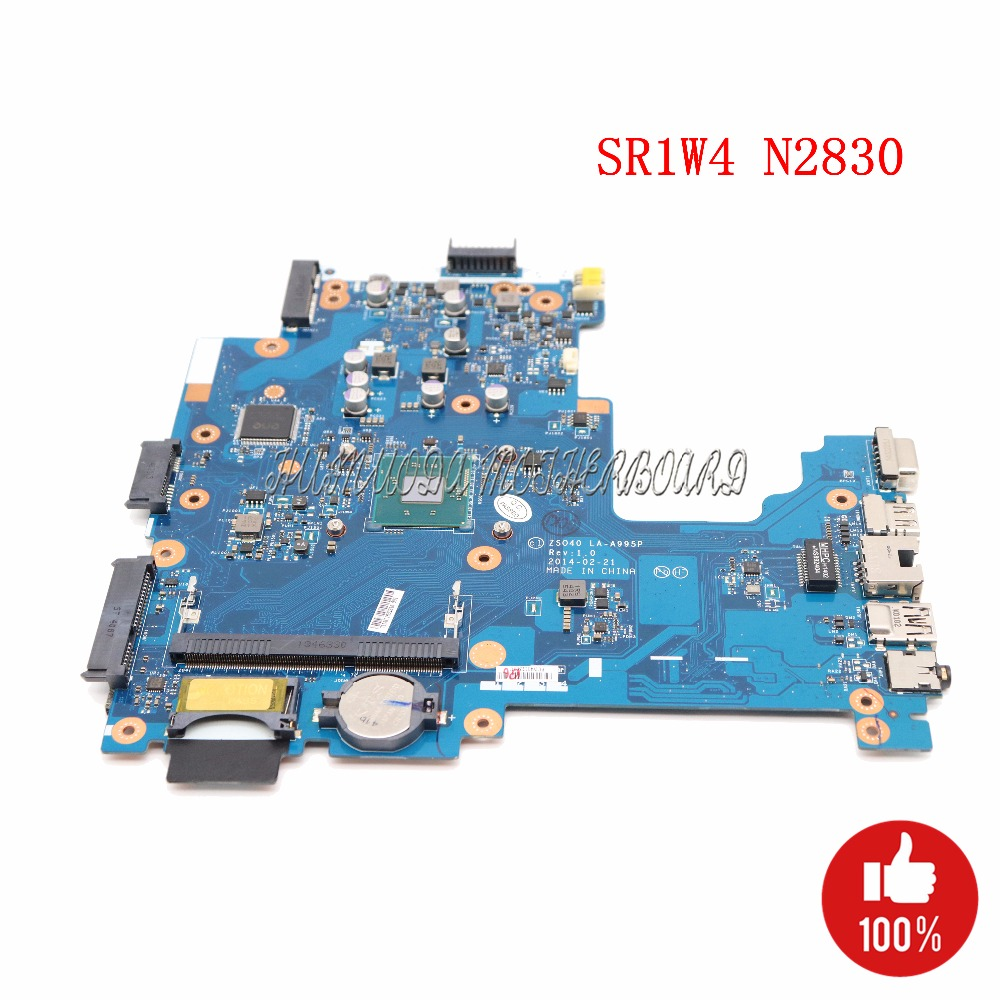 NOKOTION 775632-501 775632-001 Laptop motherboard For HP 14-R 240 ZS040 LA-A995P SR1W4 N2830 CPU DDR3L Main board full tested