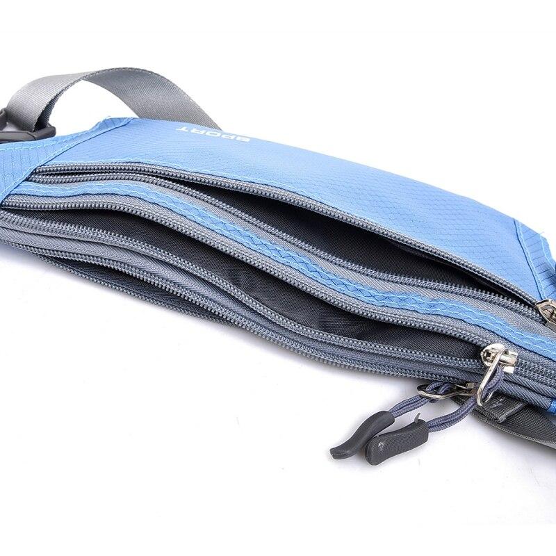 Impermeable Correr Cinturones Bolsas del Vago de La Cintura Bolsa de Fanny Paque