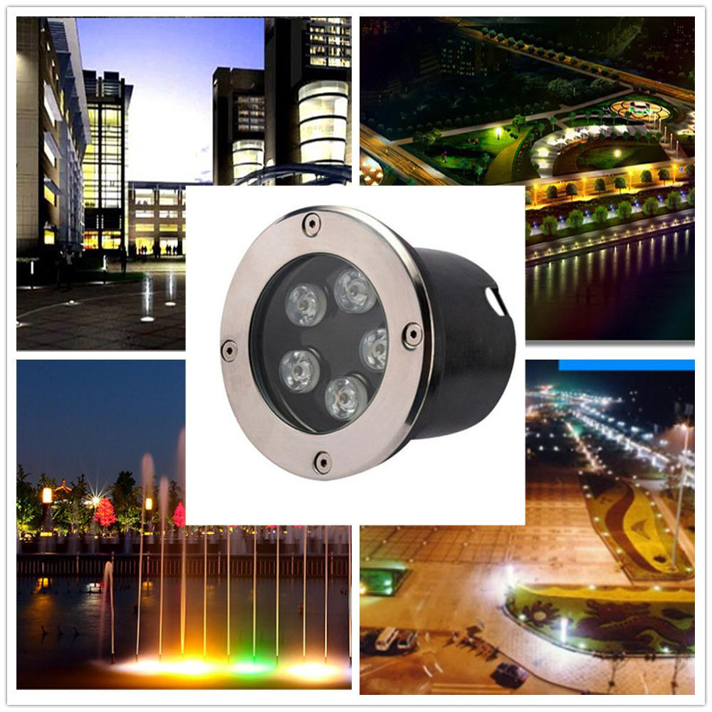 Lights & Lighting Responsible Adeeing 5w Ip67 Led Circular Buried Light Landscape Lamp Outdoor Garden Path Way Lawn Decoration Led Underground Light Modern Techniques