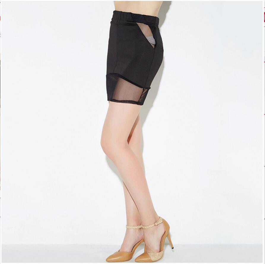 Полупрозрачные короткие юбки