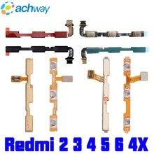 hot deal buy original redmi 3s power volume button flex cable xiaomi redmi 3 4x 5 6 note 2 note 3 4x redmi note 4 5 5a side button switch key