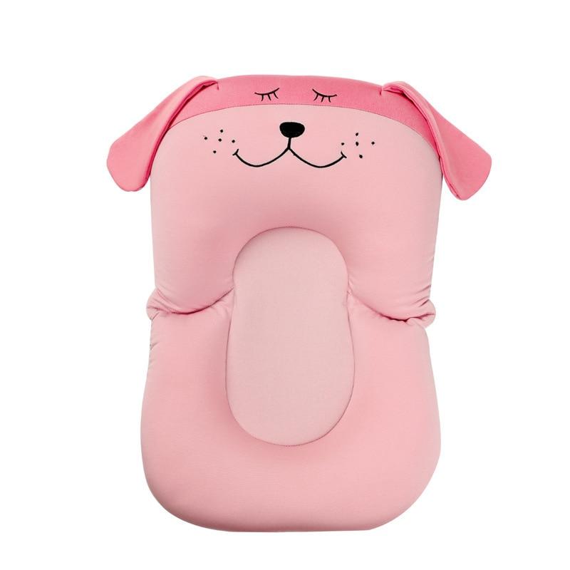 Baby Bath Tub Newborn Foldable Pad & Chair Bathtub Seat Infant Support Cushion Mat For Gift