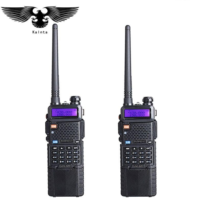 1Pz Baofeng uv-5r ham radio 3800 mAh batterie dual band radio 136-174 mhz e 400-520 mhz baofeng uv5r radio del palmare 2 voies radio