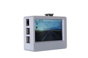Image 3 - ใหม่ 3.5 นิ้ว 800x480 USB HDMI จอแสดงผล LCD หน้าจอสัมผัส 3D พิมพ์พร้อมพัดลมระบายความร้อนสำหรับ Raspberry pi