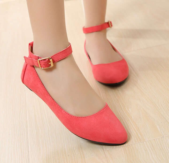 Compare Prices on Hot Pink Flat Shoes- Online Shopping/Buy Low ...