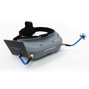 все цены на Aomway Commander Goggles 40CH 5.8G FPV Video Headset Glasses Support HDMI DVR Headtracker онлайн