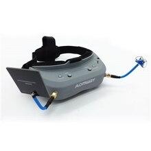 Aomway командир очки 40CH 5.8 Г FPV видео гарнитура очки поддержка HDMI DVR headtracker