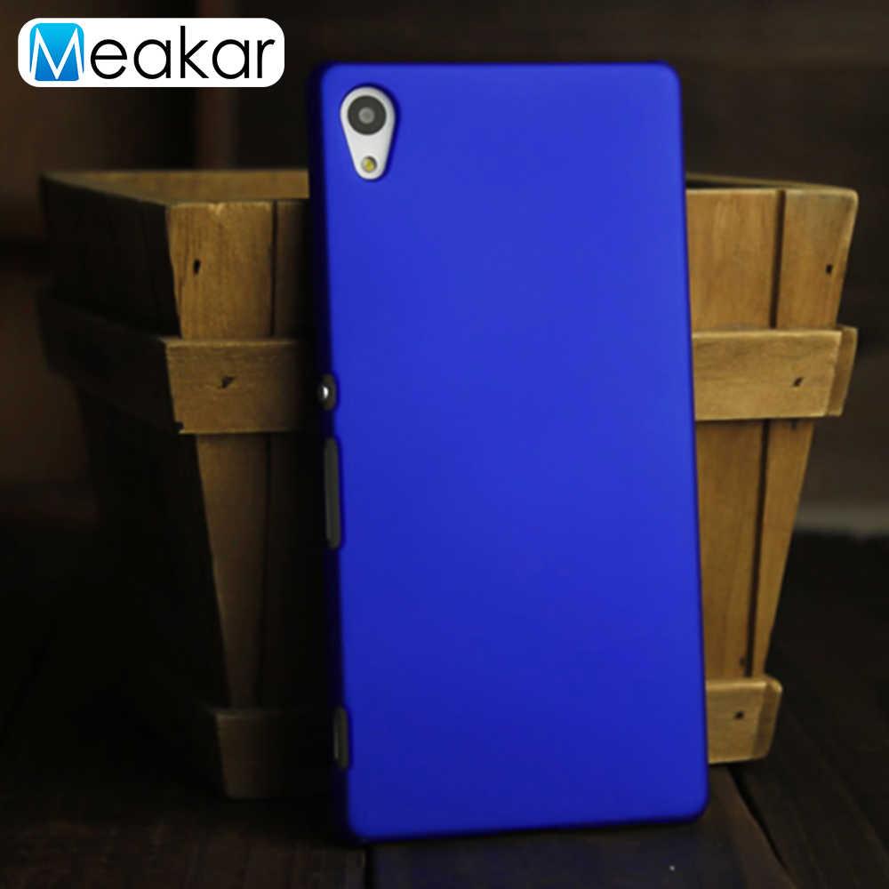 מט פלסטיק Coque כיסוי 5.2For Sony Xperia Z4 מקרה עבור Sony Xperia Z4 Z3 בתוספת כפולה E6533 E6553 טלפון בחזרה coque כיסוי מקרה