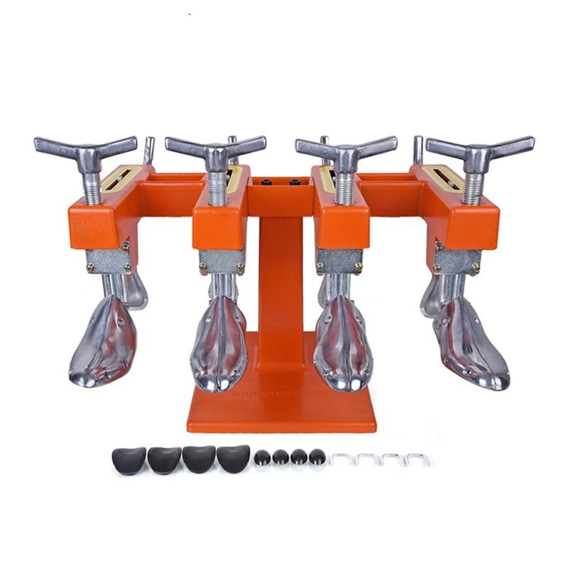 Новый Металл двойной обуви Носилки вытягивания дерева Для мужчин регулируемый Ширина и Длина