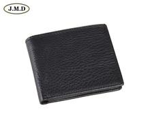 8063A  2014 October New Arrival Vintage Genuine Leather Black Man  Wallet purse october