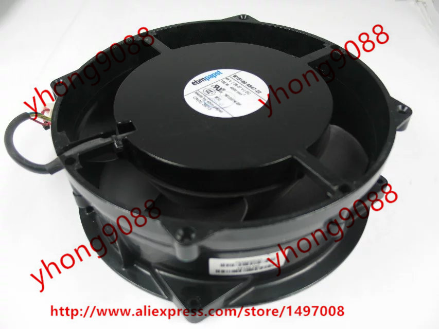 ebmpapst W1G180-AB47-22 DC 48V 100W  200x200x70mm Server Round  fan ebmpapst a6e450 ap02 01 ac 230v 0 79a 0 96a 160w 220w 450x450mm server round fan outer rotor fan