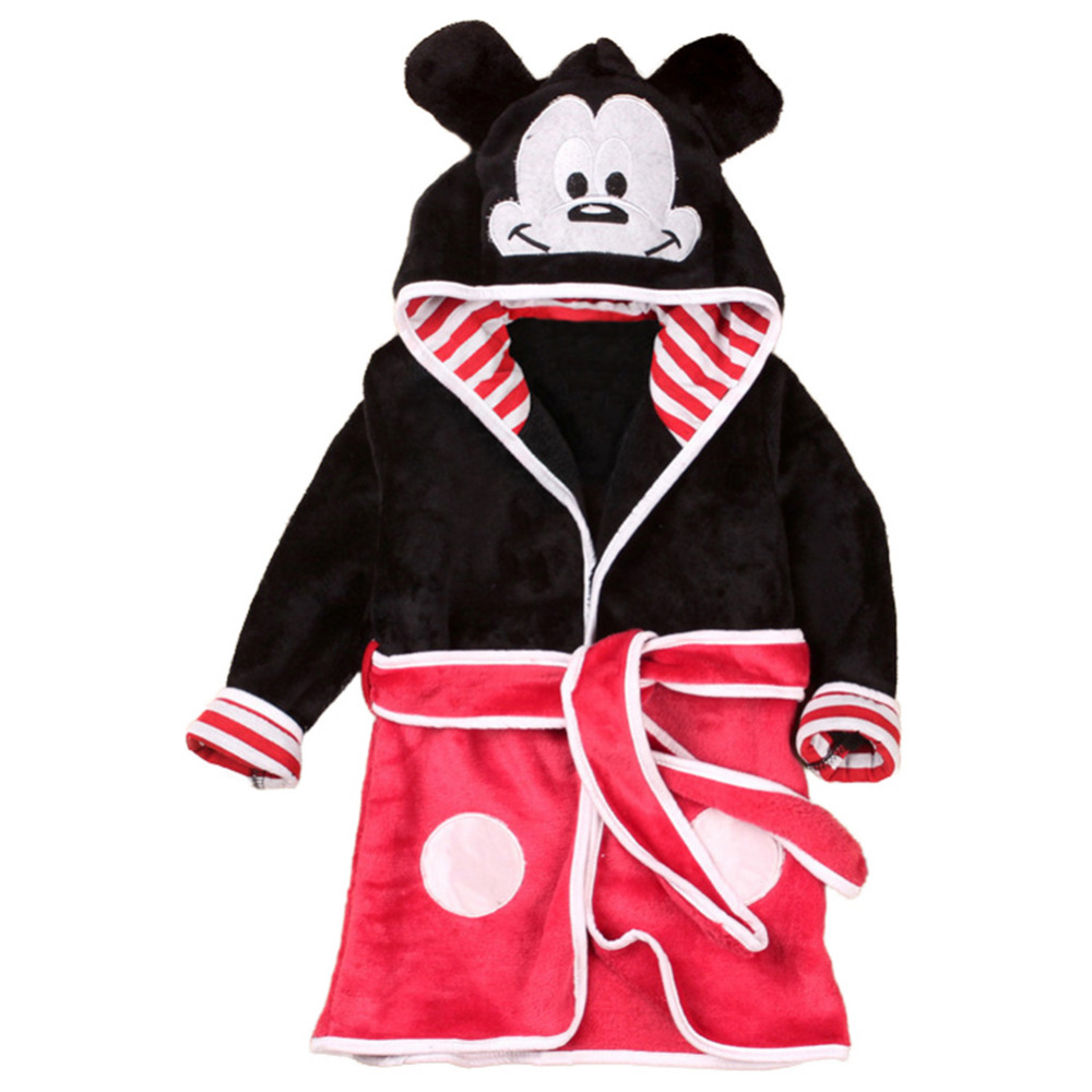 Detail Feedback Questions about Mickey Mouse Pajamas Bathrobe Minnie Mouse  Robe Boys Girls Micky Minnie Cosplay Cartoon Sleepwear Pajama For Kids on  ...