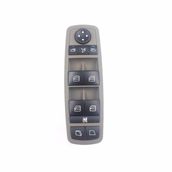 Abu-abu Saklar Utama Jendela Untuk BENZ GL Kelas R Mercedes Benz ML350 W251 X164 GL450 R350 R280 A2518300390 2518300390