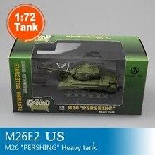 Tanque de energía mágico M26 modelo de tanque pesado de EE. UU., escala 1:72, tanque estático terminado, colección de modelos 36202