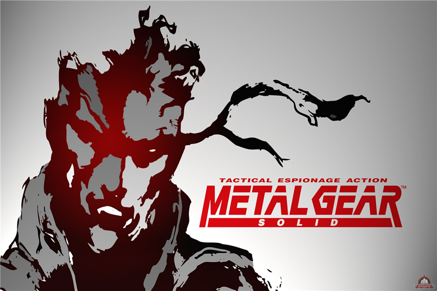 Metal Gear Solid Wallpapers Game Sticker Custom Canvas Arts Gaming Poster Metal Gear Wall Stickers Home Decoration Gift #PN#596#