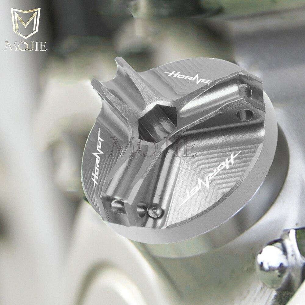 M20*2.5 Motorcycle Aluminum Engine Oil Filler Drain Sump Plug Cover Screw Cap For Honda CB1300 ABS X4 SC38 CB500 CB250R CB125F(China)